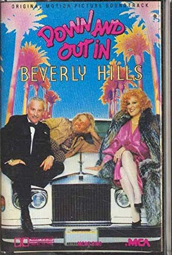 Down and Out in Beverly Hills -Soundtrack -12492 Cassette Tape
