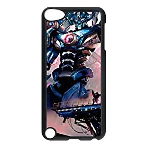 Generic for iPod Touch 5 Case Black Aatrox Custom HKADSGHGO3781