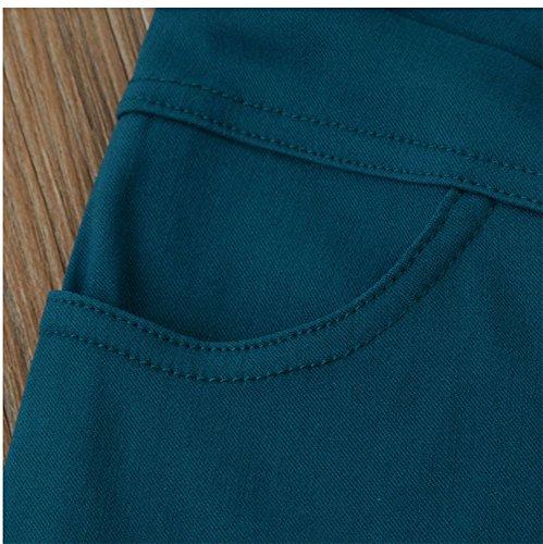 Pantaloni Del Della Donne Professione Delle Diritta Lavoro Dell'ufficio Molli Bianca Usura Dei Diritti Infermiere Di Gamba D'infermiera rq47nEwrC