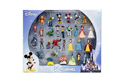 Beverly Hills Teddy Bear Company Disney Super Assortment Toy Figure Playset, - Centre Beverly