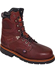Thorogood Mens 8 Waterproof Safety Toe Leather Work Boots