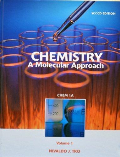 Chemistry, a Molecular Approach (Volume 1)