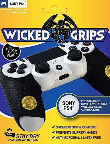 Price comparison product image Wicked-Grips High Performance Controller Grips - PlayStation 4