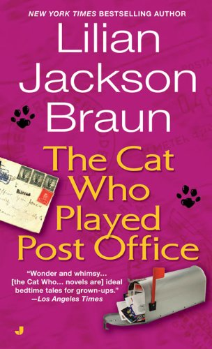book cover of The Cat Who Played Post Office