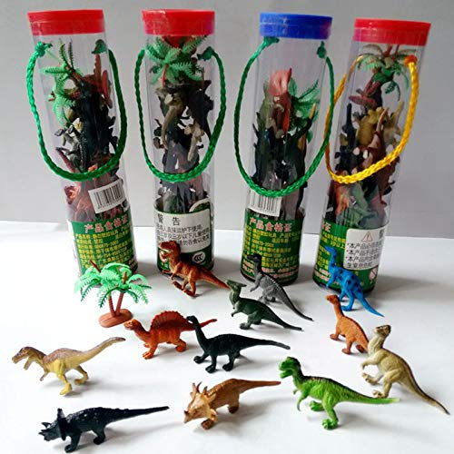 PampasSK Action & Toy Figures - 12pcs/Set Kids Imaginative Dinosaur Toy 6cm PVC Action Figure Toys Learning Resources for Toddlers 1 PCs from PampasSK
