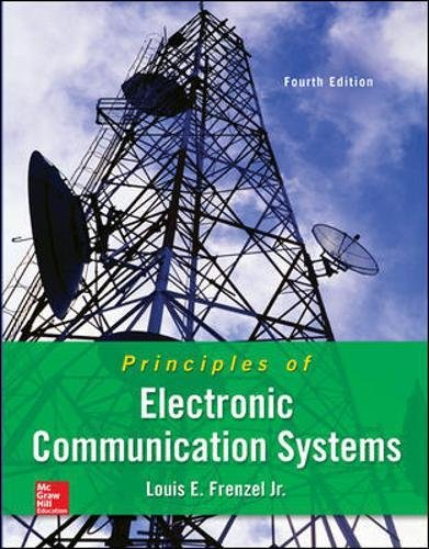 - Principles of Electronic Communication Systems