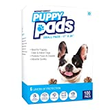 #6: Mednet Direct 6 Layer Dog Training and Puppy Pads for Pets With Deodorant and Attractant, 17 x 24, 100 Count