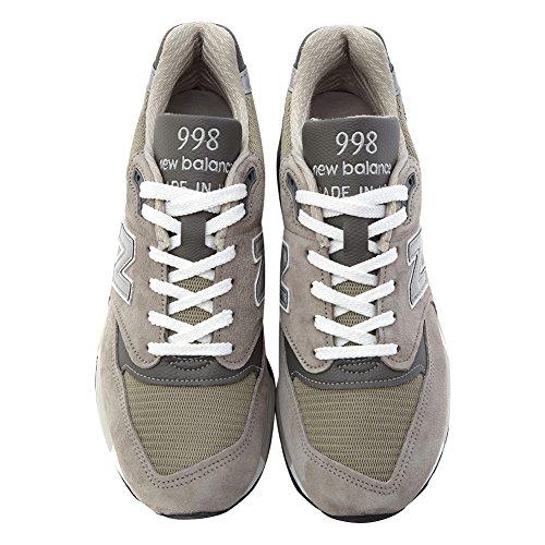 New Balance Heren 998 Classic Hardloopschoenen, M998, Grijs (8 M Us)
