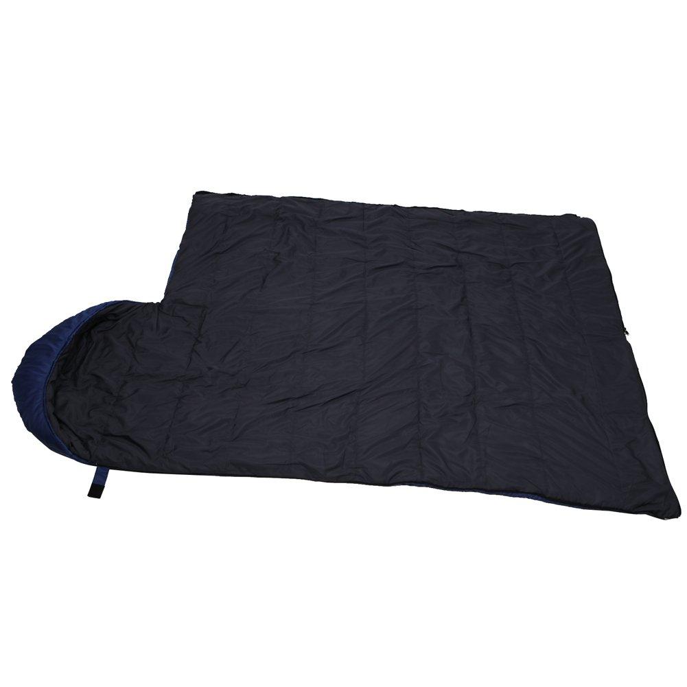 Yodo bolsa de dormir clima cálido 40 - 60 Degree F - resistente al agua ligero con bolsa de compresión - Ideal para 3 temporada viajar, Camping, ...