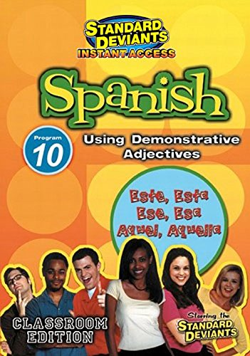 SDS Spanish Module 10: Demonstrative Adjectives [Instant Access]