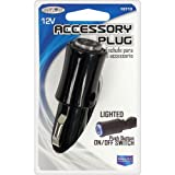 Automotive Accessories Best Deals - Custom Accessories 18713 12V 5 Amp Lighted On/Off Plug
