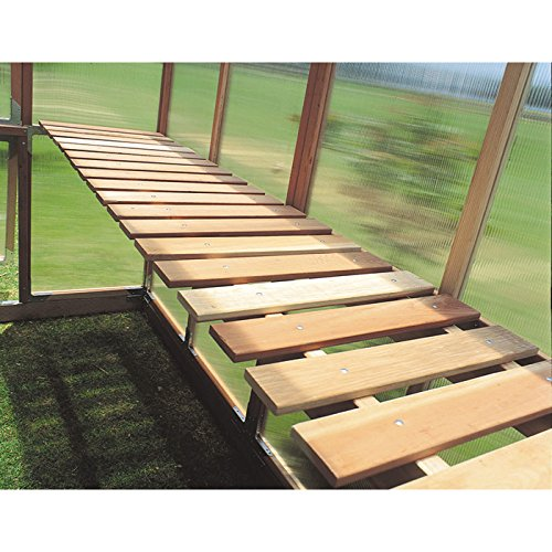 Sunshine GardenHouse Bench Kit - For Item# 24782 8ft. x 6ft. Mt. Hood GardenHouse Greenhouse, Model# (Sunshine Bench Kit)