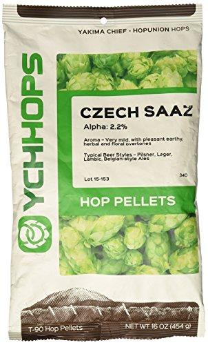 HopUnion 1 lb Czech Saaz Pellet Hops by HopUnion