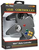 CirKa N64 USB Controller for PC/ Mac (Gray) For Sale