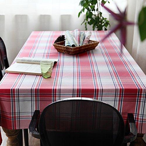 DIDIDD Mantel de tela simple estilo europeo hogar tv gabinete a prueba de polvo paño decoraciones de navidad,130X210cm