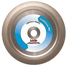 MK Diamond 155855 MK-275G 6-Inch Diameter 45 Degree Bevel Profile Wheel