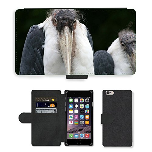 Just Phone Cases PU Leather Flip Custodia Protettiva Case Cover per // M00129258 Maribu Zoo Nature Oiseau Oiseaux // Apple iPhone 6 PLUS 5.5""