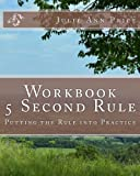 The 5 Second Rule by Mel Robbins is a wonderful book that helps you eliminate bad habits. This workbook picks up where Robbins left off. The workbook allows you to put into practice what you learned in the book. Even if you haven't read the book, you...