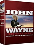 John Wayne Movie 3-pk - All 3 Movies are In COLOR! Also Includes the Original Black-and-White Versions which have been Beautifully Restored and Enhanced!