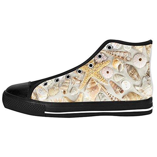 Canvas Custom Stelle Shoes Le Spiaggia I Di Tela Da Ginnastica Lacci Marine In Sopra Men's Delle Scarpe Alto wSS4xURXq