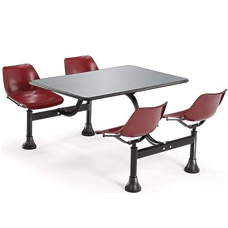 Amazon.com: Mesa de restaurante y sillas, cremola 24 x 48 ...