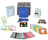 Polaroid Accessories. Polaroid Camera PIC-300 Instant Film Bundle, 9 PC Kit Includes: Polaroid Case + Strap + Photo Album + Standing Album + Wall Hanging Frames + 60 Stickers + 5 Frames, + Gift Box.