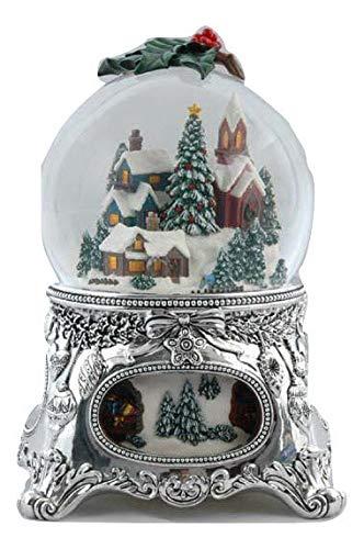 (Musicbox Kingdom Musicbox Kingdom-56058 Snow Globe Village