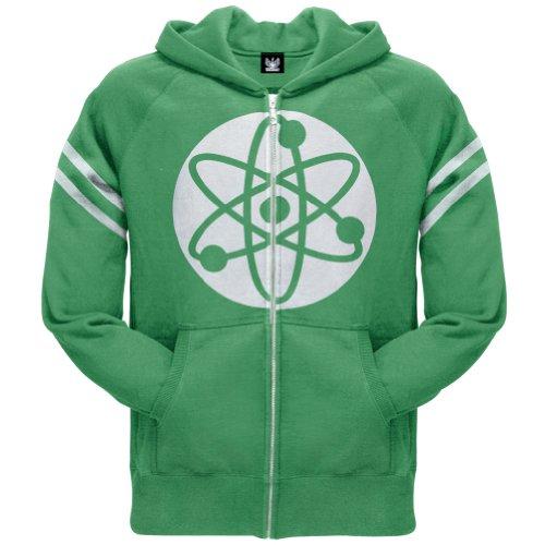 Big Bang Theory Atom Hoodie, Green