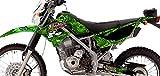 Kawasaki KLX 150 Custom Sticker Graphic Decals Kits BAT Metal Mulisha Trops