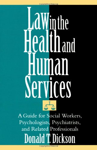 Law in the Health and Human Services