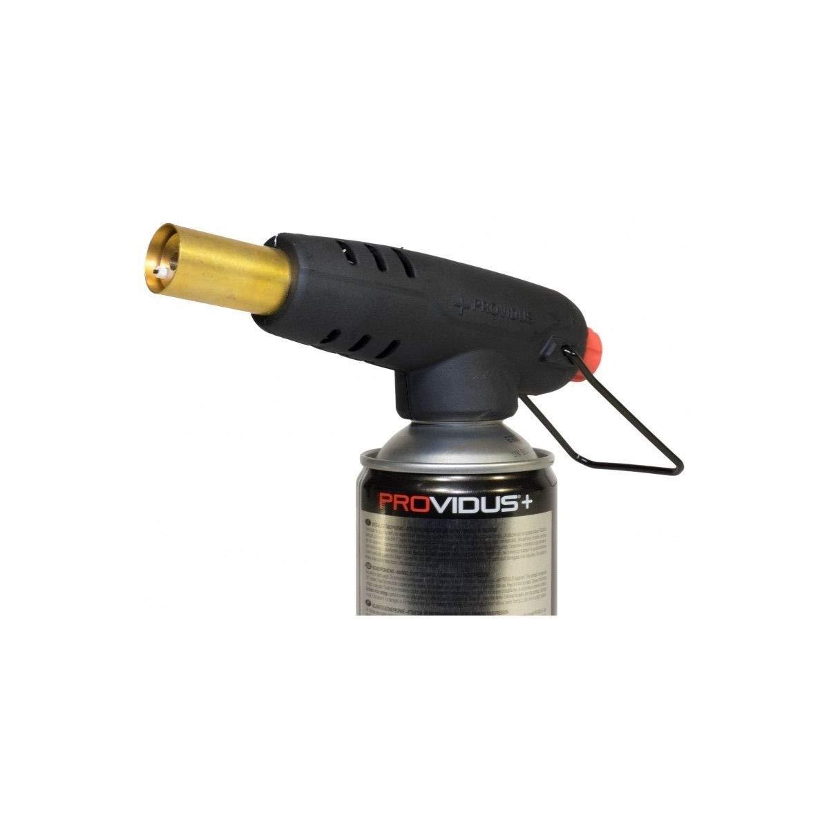 Soplete Gas roscado PV 933 botella de gas de valve. soldadura blanda - étamage - dégrippage. Cartucho Gas butano propano incluida: Amazon.es: Iluminación