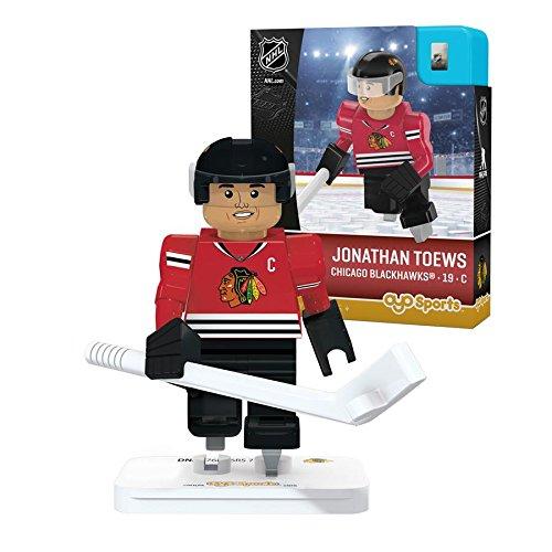 Chicago Blackhawks Jonathan Toews Puck (OYO Sports NHL Minifigure Chicago Blackhawks Jonathan Toews)