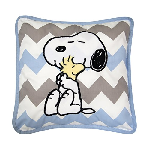 Lambs & Ivy Peanuts My Little Snoopy Decorative Pillow, - Bedding Decorative Pillow Baby