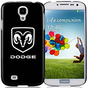 Fashionable Samsung Galaxy S4 I9500 Case ,Unique And Lovely Designed Case With Dodge Logo 1 Black Samsung Galaxy S4 Cover Phone Case