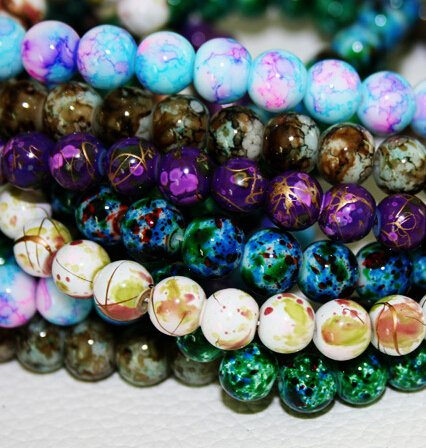 Seeds Grant- 6MM 140pcs/lot 1 COLOR item Beads Round Assorted Colorful Glass Bead For Women Bracelet making Wholesale or Retail Cheap!