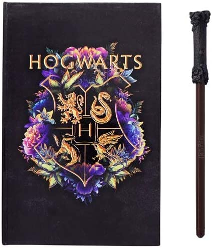 HARRY POTTER Hogwarts Journal with Wand Pen