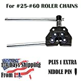 Chain Breaker/Cutter For #25-60 Roller Chains Motorcycle Bicycle Go Kart ATV Chains Replacing