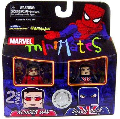 Marvel MiniMates Exclusive Wonder Man and Union Jack