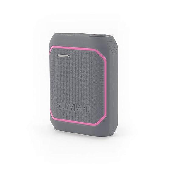 promo code 26af7 223ed Amazon.com: Griffin Survivor Power Bank, 10,050 mAh Rugged Portable ...