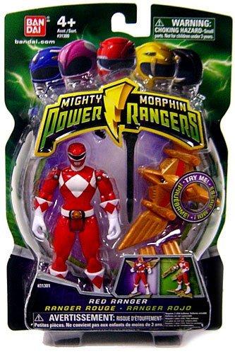 Red Power Rangers Mighty Morphin Yellow Ranger