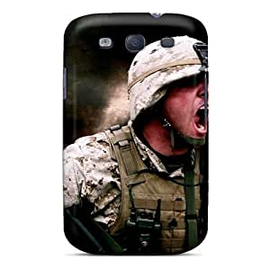 Excellent Galaxy S3 Case Tpu Cover Back Skin Protector Army Military Explosions Usa Infantry