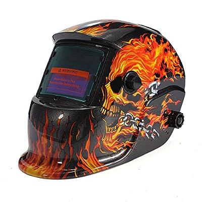Electrical Welding Helmet Solar Energy Automatic Darkening Skull Mask bsx welding helmet esab pancake hood tweco tillman sentinel a50 stallion wel-bilt auto-darkening Viking