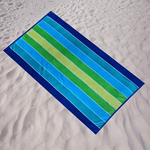 Espalma Carribbean Stripe Oversized Beach Towel Clearance, Over Sized Large Luxury 36