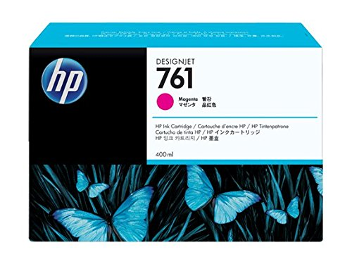HP DesignJet T 7100 60 inch -Original HP CM993A / 761 - Magenta Ink Cartridge -400 ml