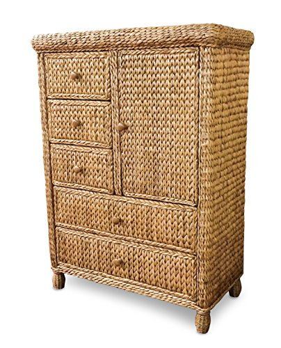 Wicker Paradise BL109 Key West Miramar Natural Fibers Chest, Large