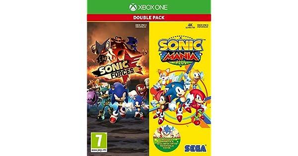 Sonic Mania Plus and Sonic Forces Double Pack (Xbox One) - Importacion inglesa - Multilenguaje (+castellano) [nintendo_switch] …: Amazon.es: Videojuegos