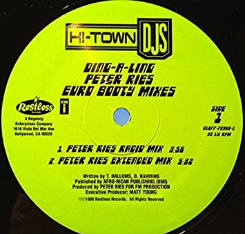 hi town dj s ding a ling vinyl amazon com music