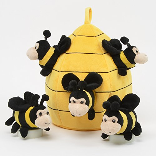 Bee Stuffed Animals<br>Hive House