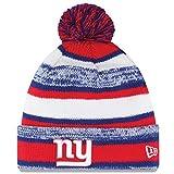 New York Giants 2014 On Field Sport Cuffed Pom Knit Beanie Hat/Cap
