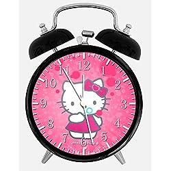 Ikea New Hello Kitty Alarm Desk Clock 3.75 Room Decor X20 Will Be a Nice Gift